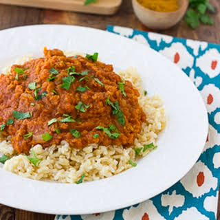 Slow-Cooker Red Curry Lentils {Gluten-Free, Dairy-Free}.