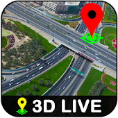 Live Earth Map GPS Tracking & Live Street View HD
