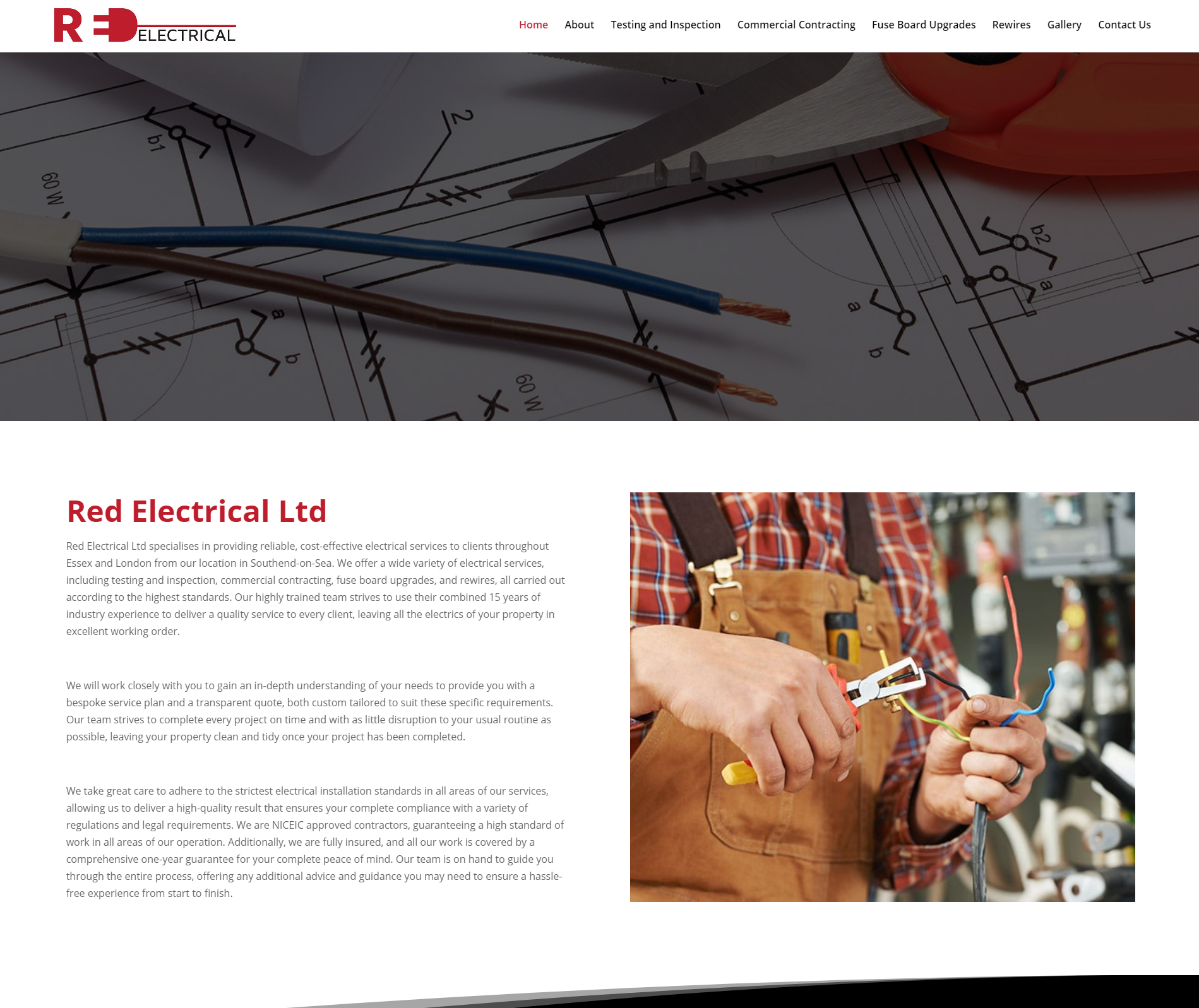 red electrical
