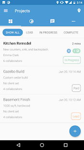 BareTeam (App for Contractors) - náhled