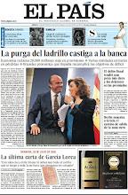 Photo: La purga del ladrillo castiga a la banca, más pena para el delito fiscal, la última carta de Lorca y los cincuenta años del contrato conyugal entre los reyes de España, en la portada del sábado 12 de mayo http://srv00.epimg.net/pdf/elpais/1aPagina/2012/05/ep-20120512.pdf