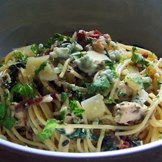 Chicken Gorgonzola and Pancetta Pasta