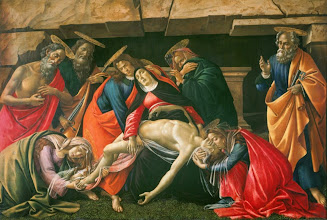 Photo: Sandro Botticelli, Lamentation of Christ, Ca. 1490