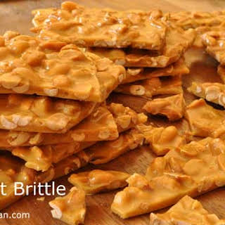 Peanut Brittle.