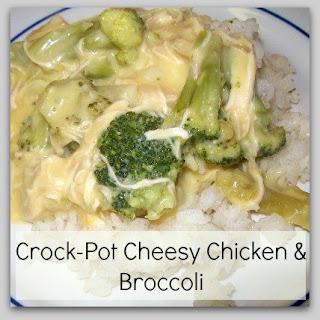 Crock-Pot Cheesy Chicken and Broccoli