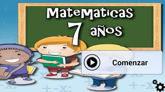 Matemáticas 7 años - náhled