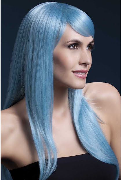 Peruk, Sienna pastellblå