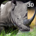 Angry Wild Rhino Attack 3D icon