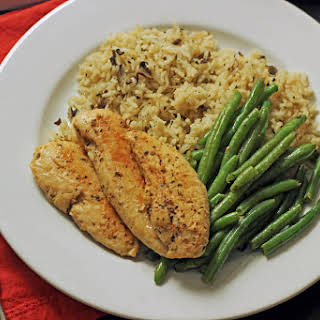 Easy Chicken and Green Beans.