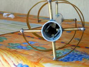 Photo: Tête d'antenne avec les schunts Gde Loop/Pte Loop en place