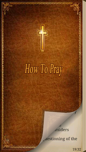 Christian. How to Pray