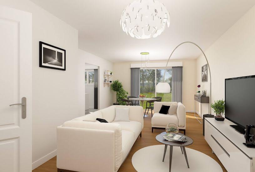 Vente Terrain + Maison - Terrain : 506m² - Maison : 84m² à Elbeuf (76500)