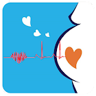 Baby Heartbeat Monitor : simulated icon