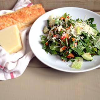 Healthy Dandelion Greens Salad