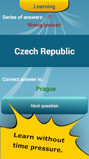 Countries Capitals Quiz- screenshot thumbnail