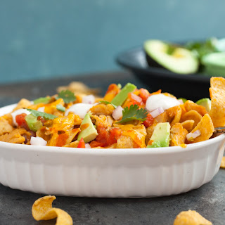 Pulled Chicken Frito Pies.