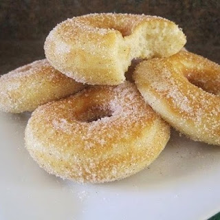 Donuts With Sugar And Cinnamon.