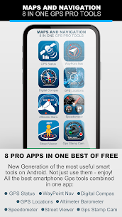 MAPS AND NAVIGATION 8 IN ONE GPS PRO TOOLS v1.8 [Premium] 1