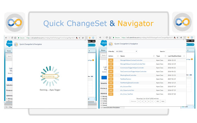 Quick ChangeSet & Navigator