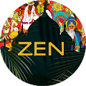 Zen. 4 7 8 breathe for relax and sleep with timer icon