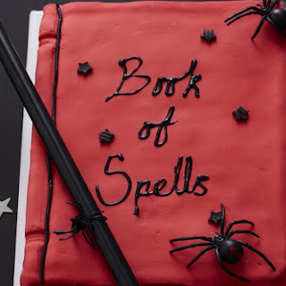 Spooky Book of Spells Cake