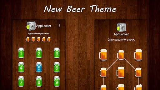 Beer Theme : Mega App Lock