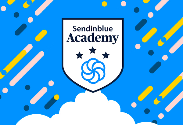 sendinblue academy logo graphic how to become an email marketing expert