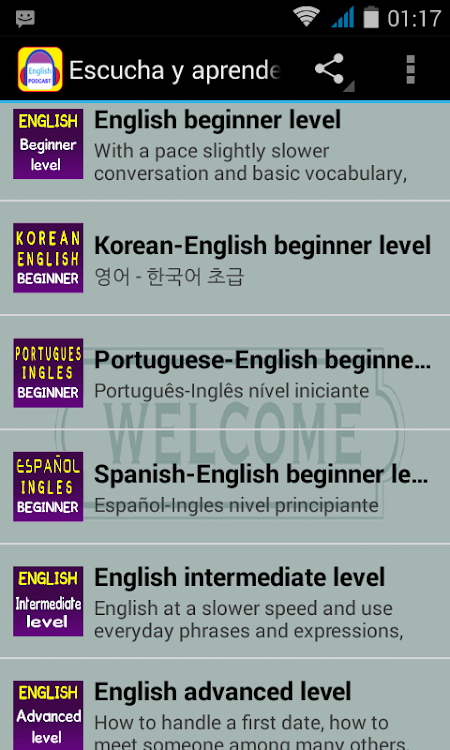 Listen and Learn English – (Android Apps) — AppAgg