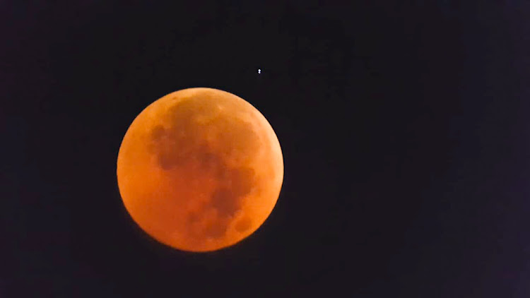 The Total Lunar Eclipse Of July 27 2018 Picture Pieter Van Der Merwe