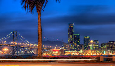 Photo: When The Lights - San Francisco I had a fun time out shooting with a bunch of photographers last night. We got some crazy shots of the city that I'll post eventually. It's been an adventurous week, but I'm about ready to get back to my honey baby, +Cher Baise .