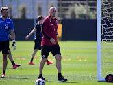 Brandon Mechele est de retour à l'entraînement au Club de Bruges