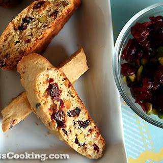 Vegan Cranberry Pistachio Biscotti Recipe