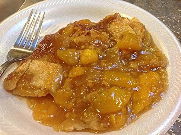 Zesty Orange Birthday Peach Cobbler Recipe
