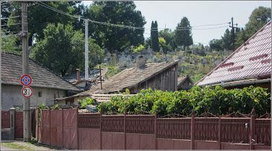 Photo: Cimitirul Crestin Turda-Noua - vedere panorama de pe Str. Matei Basarab - 2017.09.01