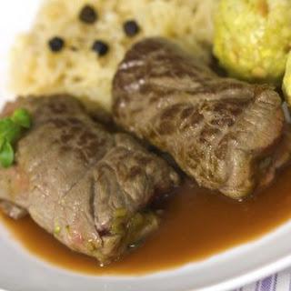 Ingredients German Beef Rouladen Recipe