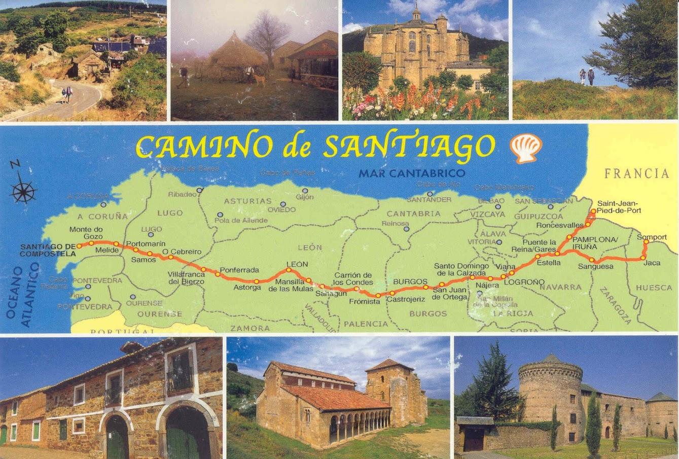 Camino Francés de Santiago -BTTersMallorca