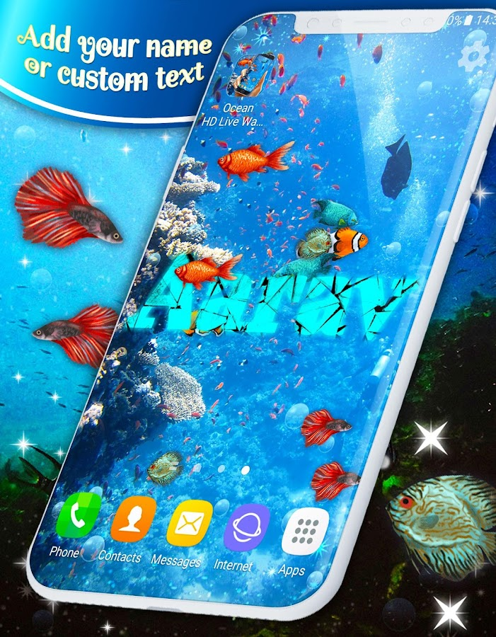Ocean Fish HD Live Wallpaper- screenshot