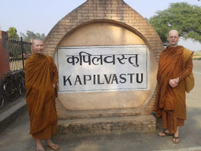 Photo: Ruins of ancient Kapilavatthu where young Siddhattha grew up