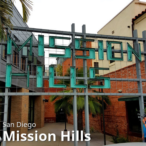 San Diego's Mission Hills neighborhood