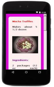 Chocolate Recipes screenshot 0