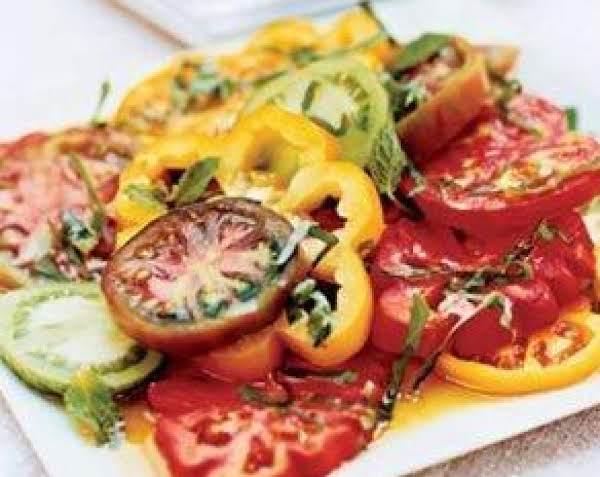 Marinated Sliced Tomatoes Recipe