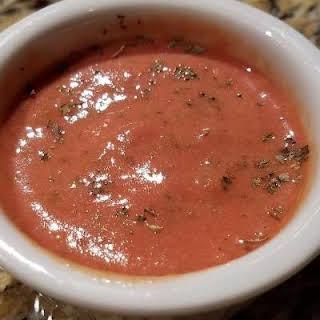 Tomato Basil Vinaigrette.