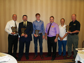 Photo: 2014 award winners with Steve Sandeen, Awards Chair