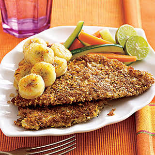 Jamaican Red Snapper with Pan-Fried Banana.
