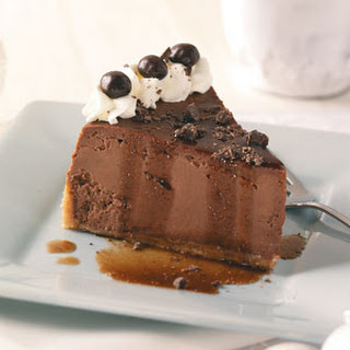 Double Chocolate Espresso Cheesecake