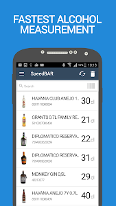 SpeedBAR Pro Alcohol inventory screenshot 0