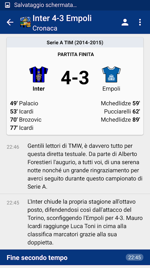 TMW Inter 1908 - screenshot