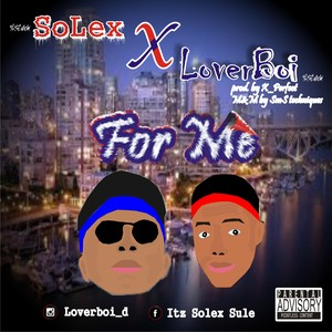 Cover Art for song For Me