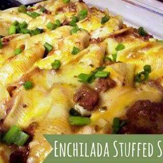 Enchilada Stuffed Shells.