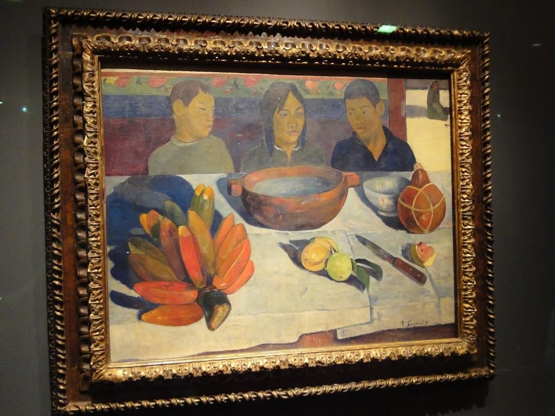 Le repas de Paul Gauguin au Pavillon France à l'Exposition universelle Shanghai 2010
